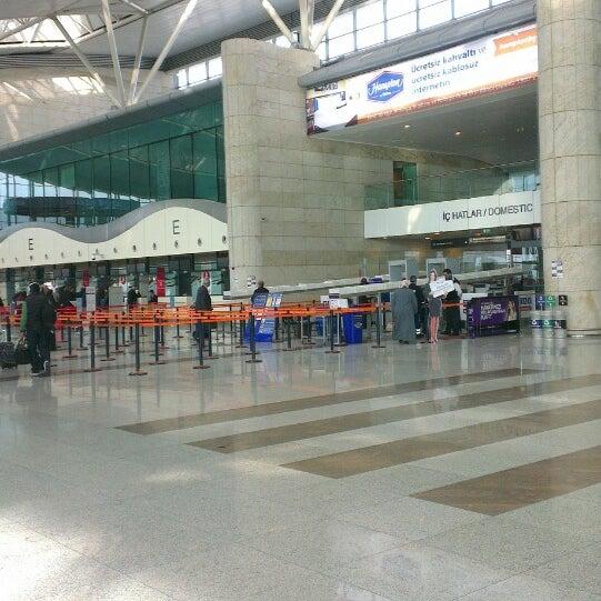 Photo taken at Ankara Esenboğa Airport (ESB) by Oral A. on 3/30/2013