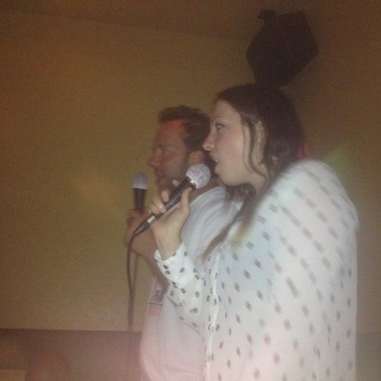 Photo taken at Chorus Karaoke and Cafe by Allison M. on 5/12/2013