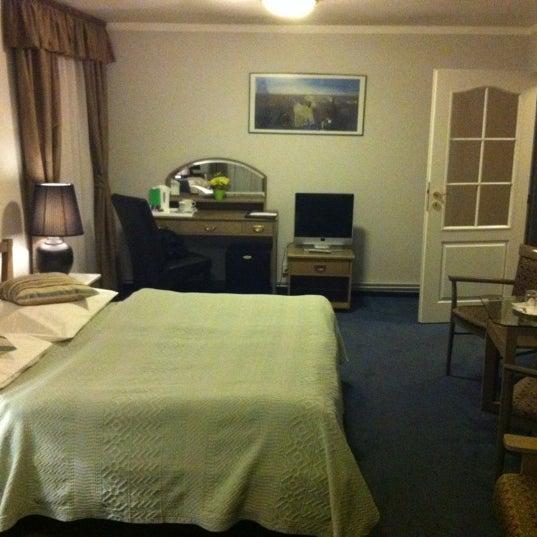 Photo taken at Hotel Salvator by Mirek on 11/11/2012