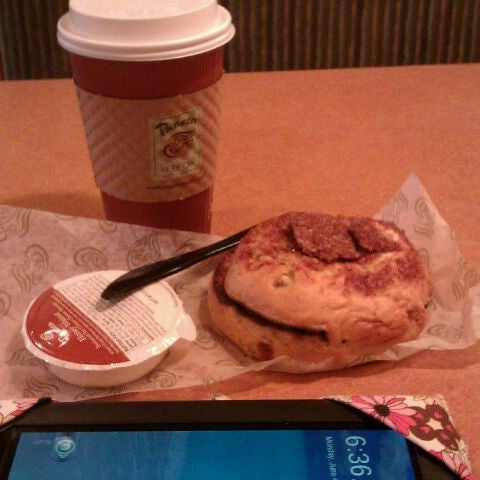 Photo taken at Panera Bread by Jessica C. on 6/4/2012