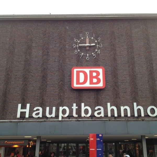 Photo taken at Duisburg Hauptbahnhof by Uwe on 2/16/2013