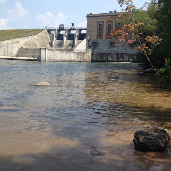 Tippy dam park in brethren for Tippy dam fishing