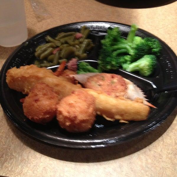 Captain d 39 s seafood fast food restaurant for Jj fish menu
