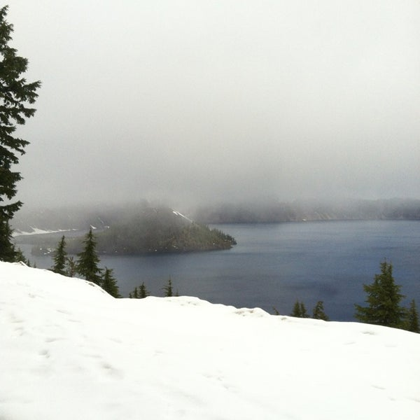 Photo taken at Crater Lake National Park by $erena D. on 5/26/2013