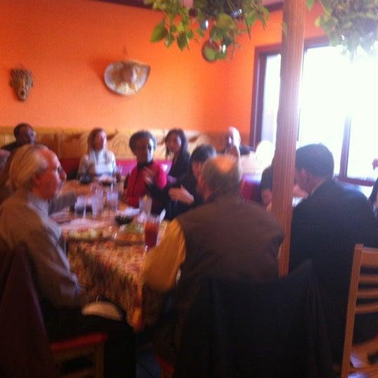 Photo taken at Los Toltecos by Melinda S. on 12/11/2012