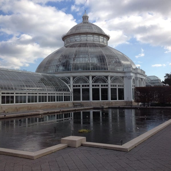 Photo taken at Enid A. Haupt Conservatory by Jason W. on 11/29/2013