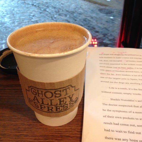 Photo taken at Ghost Alley Espresso by Kaija on 3/2/2014