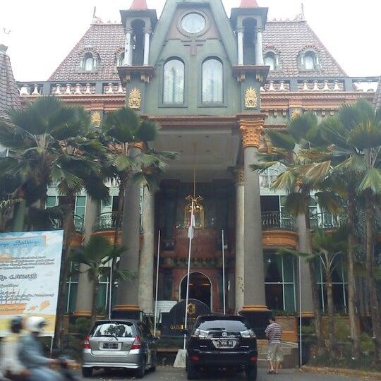 Photo taken at Hotel Gajahmada Graha by Lia F. on 11/4/2012