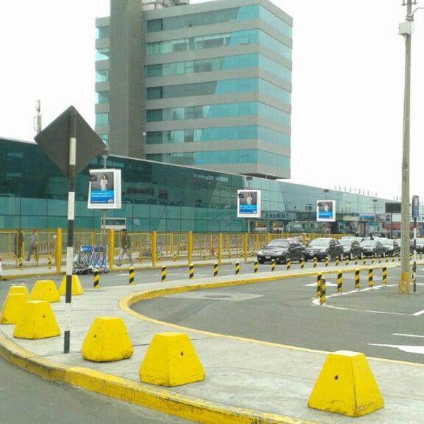 Photo taken at Jorge Chávez International Airport (LIM) by manuel p. on 7/24/2013