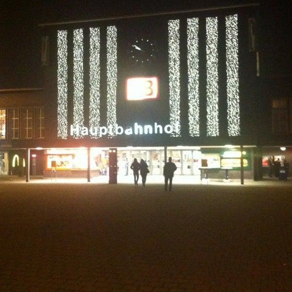 Photo taken at Duisburg Hauptbahnhof by Peter on 1/8/2013