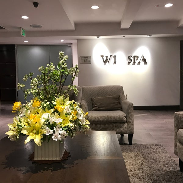 Photo taken at Wi Spa by Greg D. on 3/21/2017
