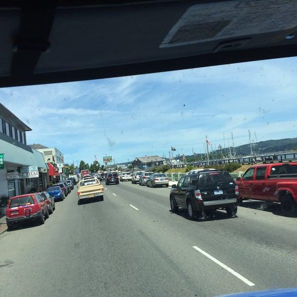 Photo taken at Coos Bay Boardwalk by Dennis on 6/24/2015