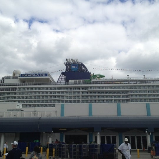 Miami Cruise Terminal: Photos At NCL Terminal