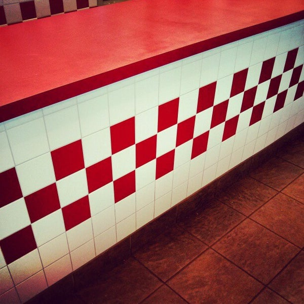 Photo taken at Five Guys by Patrick M. on 1/26/2013