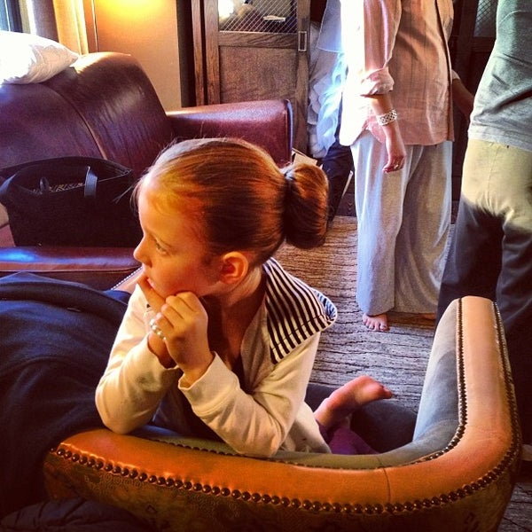 Photo taken at Soho Grand Hotel by Amber M. on 10/26/2013