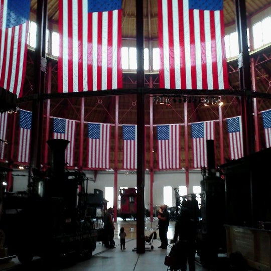 Photo taken at B & O Railroad Museum by Alison G. on 10/23/2012