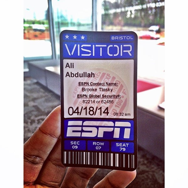 Photo taken at ESPN by Ali on 4/18/2014