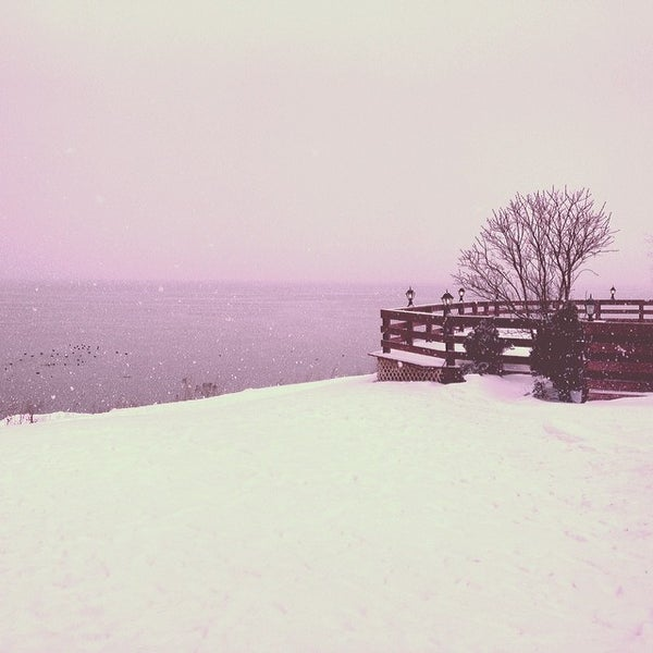 Photo taken at Lake House Restaurant by Laura on 2/16/2014
