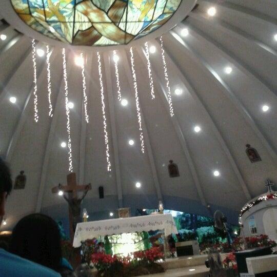 Photo taken at Sto. Niño de Paz Community Chapel by Julius M. on 1/1/2013