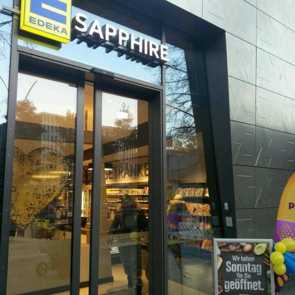 edeka sapphire supermarket in mitte. Black Bedroom Furniture Sets. Home Design Ideas
