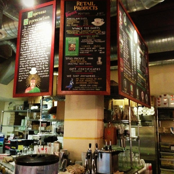 Photo taken at Espresso Vivace by Erin A. on 9/1/2013