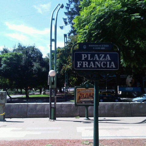 Photo taken at Plaza Francia by Alexandre H. on 3/10/2013