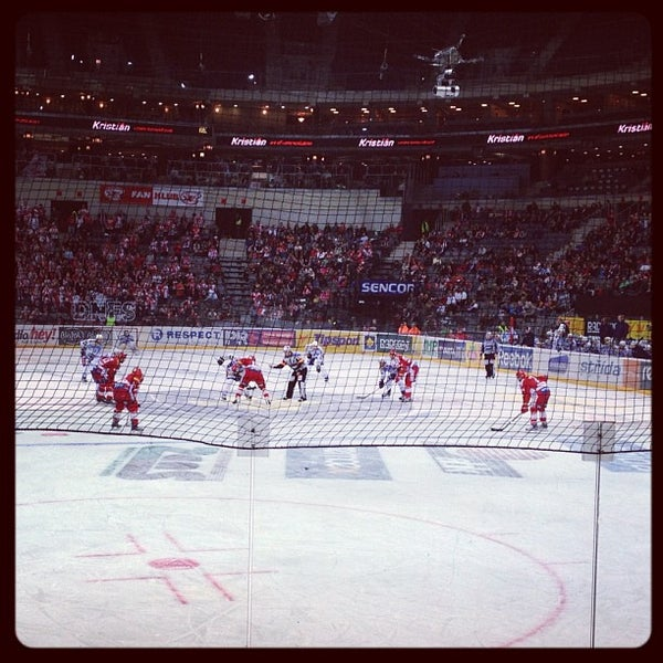 Photo taken at O2 arena by Matúš P. on 12/9/2012