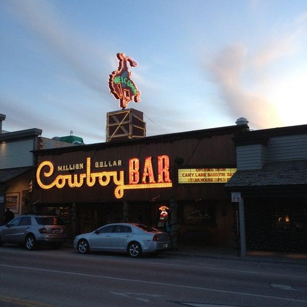 Photo taken at Million Dollar Cowboy Bar by Reid C. on 5/3/2013
