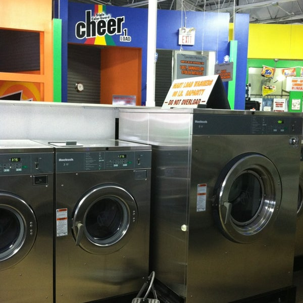 Super clean, machines work, and the staff is great if you have questions.
