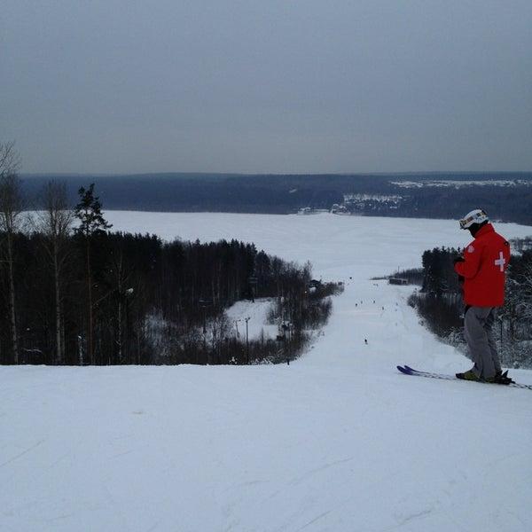 Снимок сделан в Красное озеро пользователем Владимир 12/25/2012