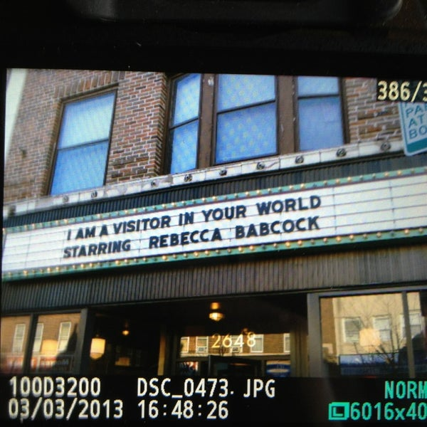 Photo taken at Logan Theatre by Andrew Bryan on 3/3/2013