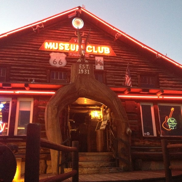 Photo taken at Museum Club by Mike R. on 9/28/2014