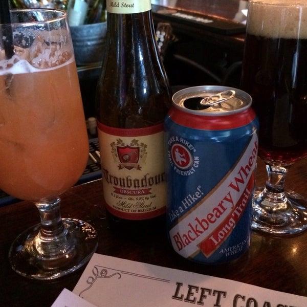 Photo taken at Left Coast Kitchen & Cocktails by Carol V. on 4/5/2014