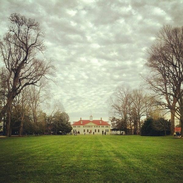 Photo taken at George Washington's Mount Vernon by Alex on 12/29/2012