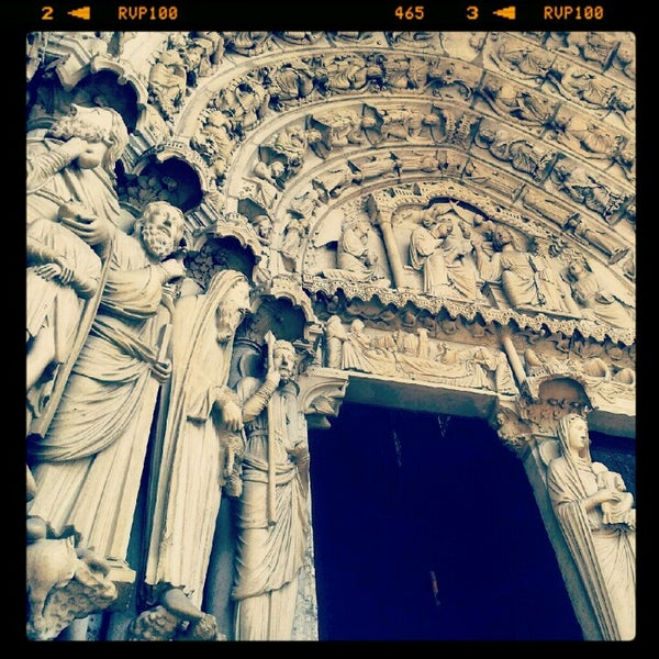 Photo taken at Cathedral Basilica of Our Lady by Caroline W. on 10/15/2012