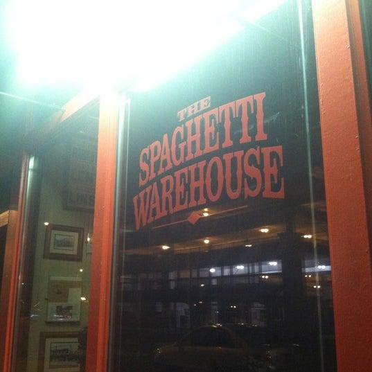 Photo taken at Spaghetti Warehouse by Sydney on 10/21/2012