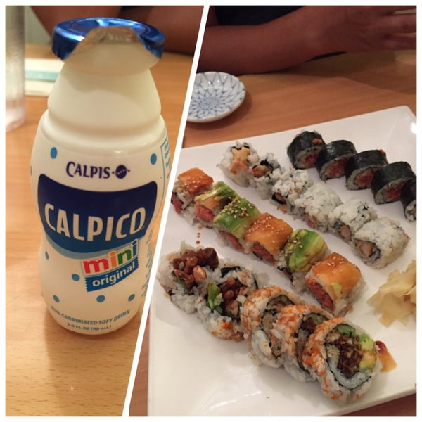 Half off sushi but had to wait a long time for the food to come out. Prices were a lot higher than other sushi places