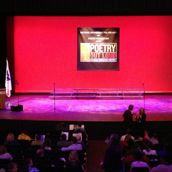 Photo taken at Lisner Auditorium by George E. K. on 4/30/2013