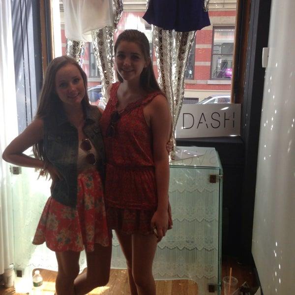 Photo taken at Dash NYC by Caroline on 7/6/2013