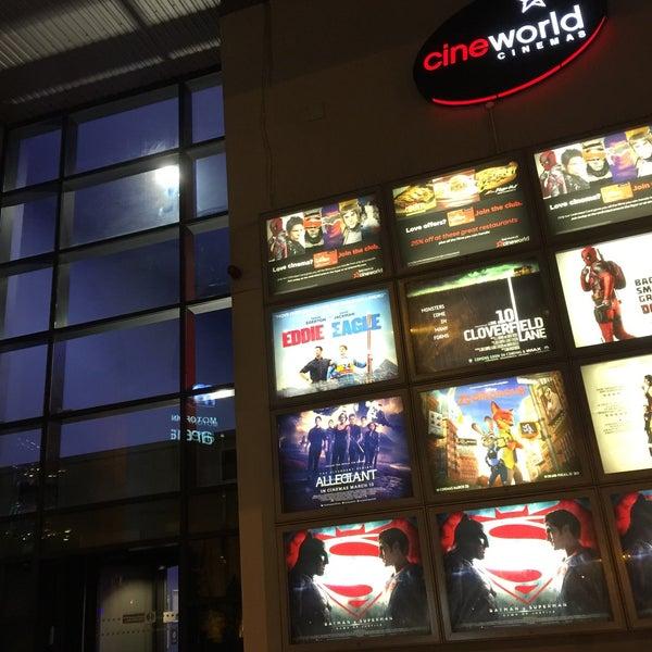 Photo taken at Cineworld by Nureen H. on 3/26/2016