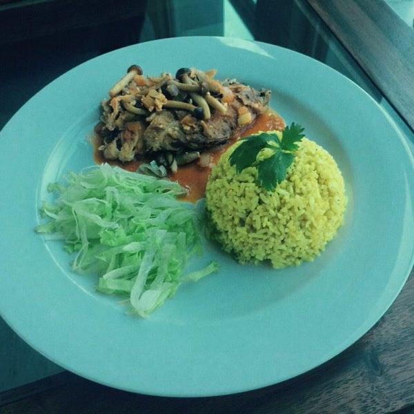 Special menu fo December. 'Chicken tandoori'