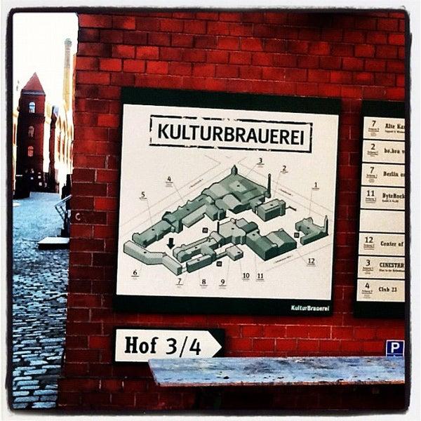 Photo taken at Kulturbrauerei by AlenaZ on 9/18/2012