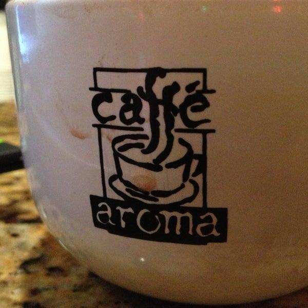 Cafe Aroma Buffalo Menu