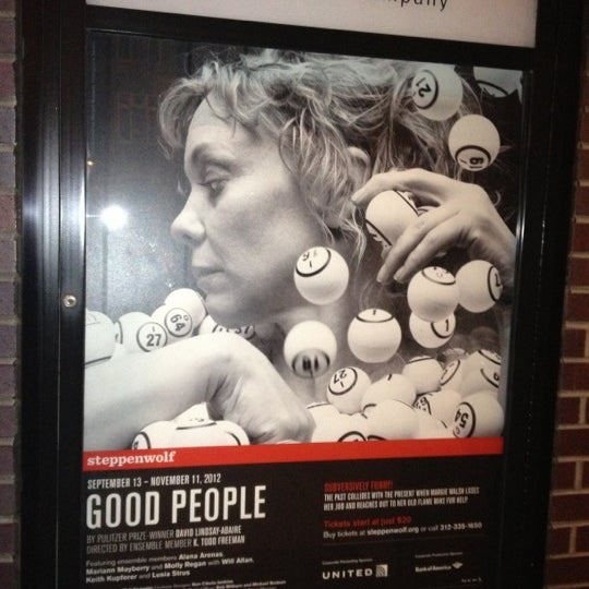 Photo taken at Steppenwolf Theatre Company by Bruce C. on 10/4/2012