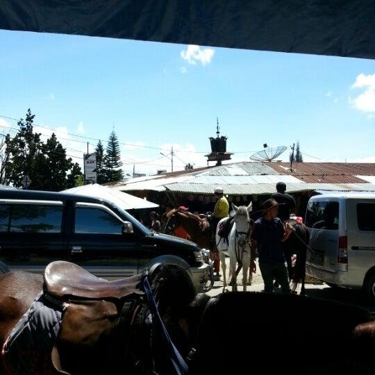 Photo taken at Pasar kaget berastagi by HuiLing L. on 1/6/2013