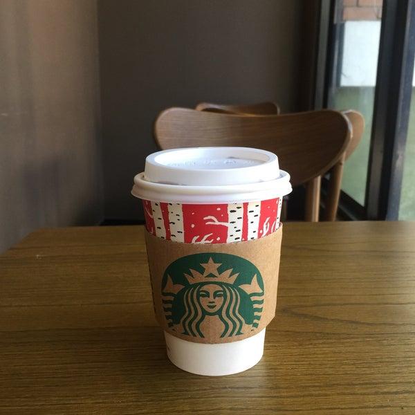 Photo taken at Starbucks by Amy de on 12/28/2016