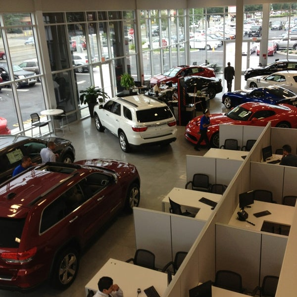 Photo Taken At Chrysler Dodge Jeep Of Paramus By Marilyn B. On 7/12
