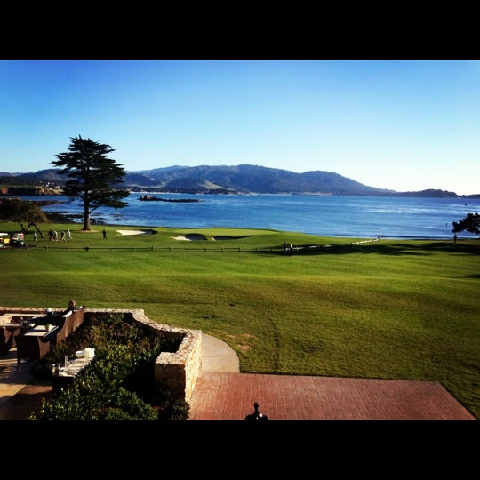 Photo taken at The Lodge at Pebble Beach by Christie G. on 1/12/2013