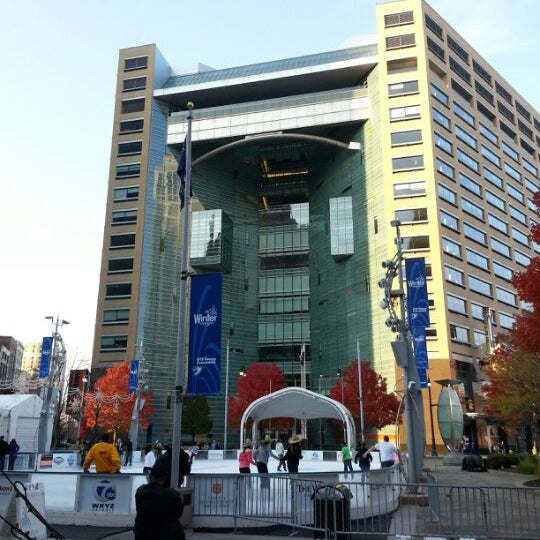 Photo taken at Campus Martius by Frank W. on 11/10/2012