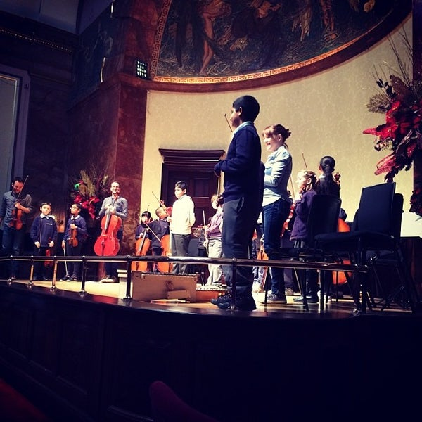 Photo taken at Wigmore Hall by Nigel G. on 12/10/2013